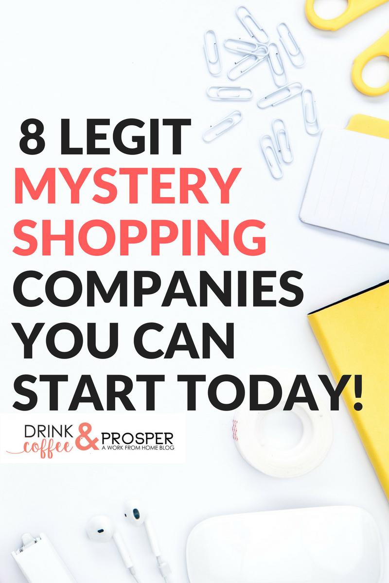 8 Legit Ways to Make Money Mystery Shopping