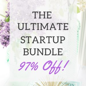 DON'T MISS OUT ON THE ULTIMATE STARTUP BUNDLE (ONE WEEK ONLY)