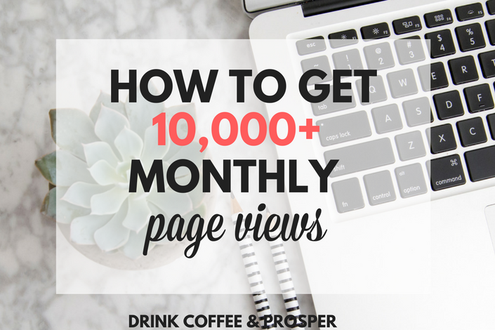 How to get 10,000 monthly page views