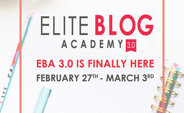 Elite Blog Academy 3.0 Doors Are Open! (5 Days Only!)