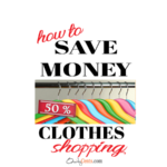 How to Save Money Clothes Shopping