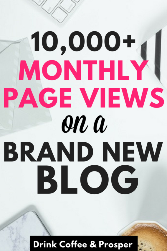 How to Get 10,000+ Monthly Page Views