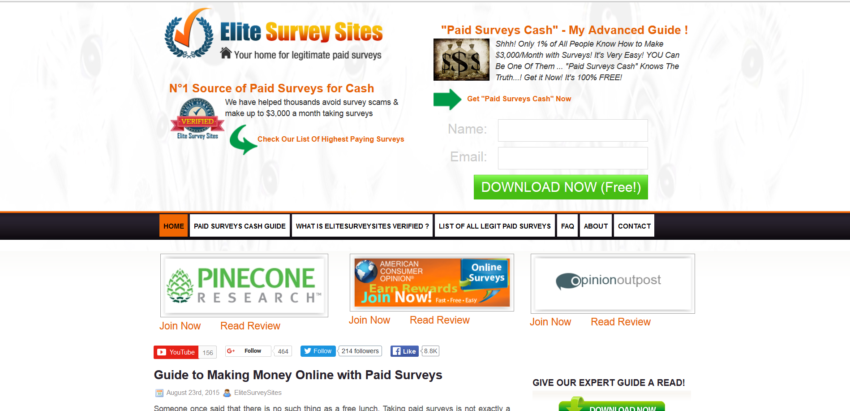Best Paid Survey Sites for Money in 2016 – Reviews of Legit Companies