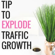 Secret tip to explode traffic growth