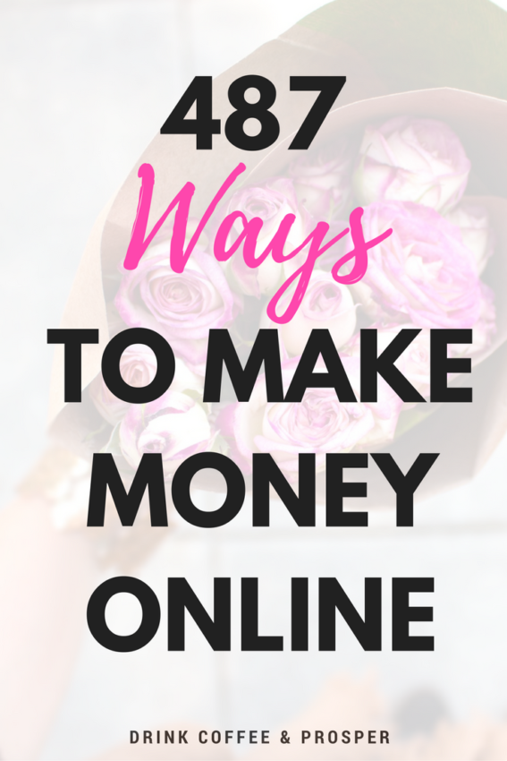 487 Ways to Make Money Online