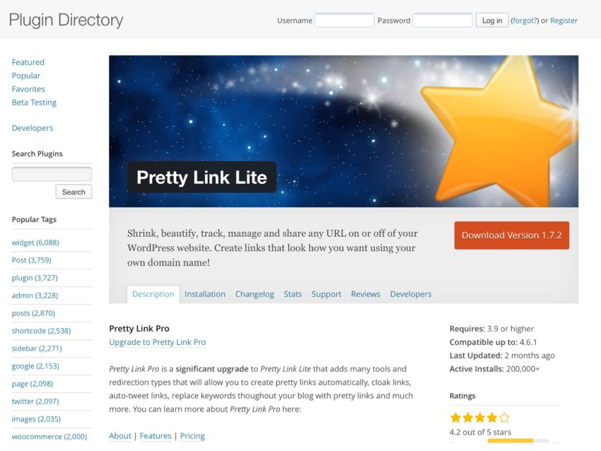 Pretty link