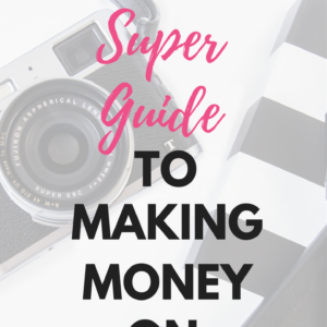 The Super Guide to Making Money on Instagram