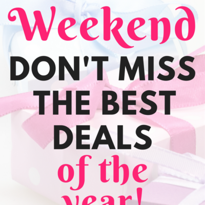 CYBER WEEKEND: Best Deals of the Year for your Blog and Biz