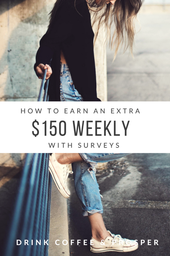 HOW TO BANK $150 PER WEEK WITH SURVEYS!