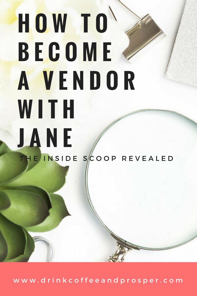 HOW TO BECOME A VENDOR WITH JANE